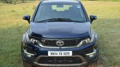 Tata Hexa XT MT front angle Review