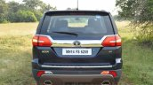 Tata Hexa XT MT rear angle Review