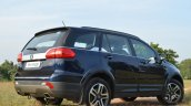Tata Hexa XT MT rear quarters Review