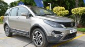 Tata Hexa XTA AT front angle Review