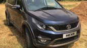 Tata Hexa front angle off-road event
