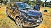 Tata Hexa front quarters off-road event