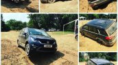 Tata Hexa off-road event