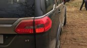 Tata Hexa taillight off-road event
