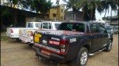 Tata Xenon facelift rear spied