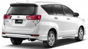 Thai-spec Toyota Innova Crysta rear three quarters