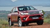 Toyota Hilux front South Africa