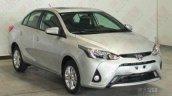 Toyota Yaris L Sedan front three quarters
