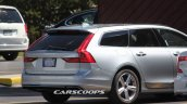 Volvo V90 spy shot USA