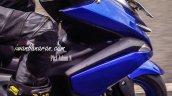 Yamaha NVX 150 front disc spied