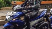 Yamaha NVX 150 front quarters spied