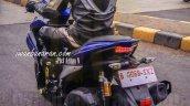 Yamaha NVX 150 rear quarter spied