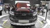 2016 Chevrolet Trailblazer Black Dress Up front at the Thai Motor Expo Live