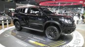 2016 Chevrolet Trailblazer Black Dress Up front three quarter right at the Thai Motor Expo Live