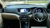 2016 Hyundai Tucson dashboard Review