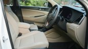 2016 Hyundai Tucson front cabin Review