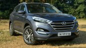 2016 Hyundai Tucson front quarter Review