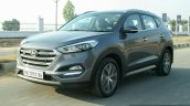 2016 Hyundai Tucson front quarter dynamic Review
