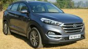 2016 Hyundai Tucson front quarter petrol Review