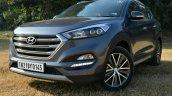 2016 Hyundai Tucson front three quarter diesel Review