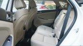 2016 Hyundai Tucson rear seat Review