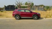 2016 Hyundai Tucson red side Review