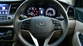 2016 Hyundai Tucson steering wheel Review