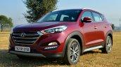 2016 Hyundai Tucson wine red  Review
