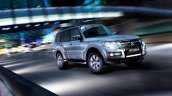2016 Mitsubishi Montero front three quarters in motion