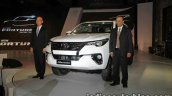 2016 Toyota Fortuner launch live