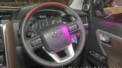 2016 Toyota Fortuner steering wheel launch