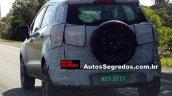 2017 Ford EcoSport (facelift) rear three quarters left side spy shot Brazil