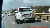 2017 Ford EcoSport (facelift) spied Brazil