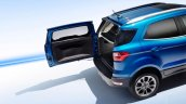 2017 Ford EcoSport (facelift) tailgate