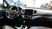 2017 Honda Ridgeline interior at 2016 Bogota Auto Show