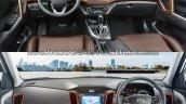 2017 Hyundai Creta vs. 2015 Hyundai Creta interior comparo