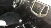 2017 Jeep Compass interior spy shot