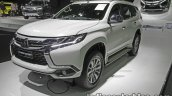 2017 Mitsubishi Pajero Sport front three quarters at 2016 Thai Motor Expo