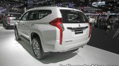 2017 Mitsubishi Pajero Sport rear three quarters left side at 2016 Thai Motor Expo