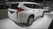 2017 Mitsubishi Pajero Sport rear three quarters right side at 2016 Thai Motor Expo