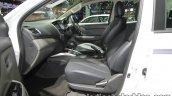 2017 Mitsubishi Triton front seats at 2016 Thai Motor Show