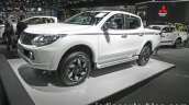 2017 Mitsubishi Triton front three quarters left side at 2016 Thai Motor Show