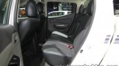 2017 Mitsubishi Triton rear seats at 2016 Thai Motor Show