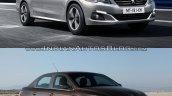 2017 Peugeot 301 vs. 2013 Peugeot 301 front three quarters right side
