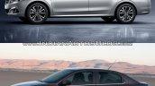 2017 Peugeot 301 vs. 2013 Peugeot 301 left side