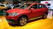 2017 Suzuki S-Cross (facelift) front three quarter at Sao Paulo Auto Show