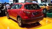 2017 Suzuki S-Cross (facelift) rear three quarter at Sao Paulo Auto Show