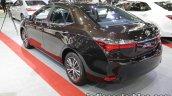 2017 Toyota Corolla rear three quarters at 2016 Thai Motor Expo