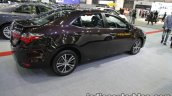 2017 Toyota Corolla rear three quarters right side at 2016 Thai Motor Expo