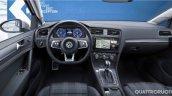 2017 VW Golf GTE (facelift) interior leaked image